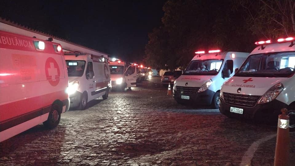 Equipes dos hospitais de Belém, Guarabira e Lagoa de Dentro participam de transporte de pacientes vindos de Manaus